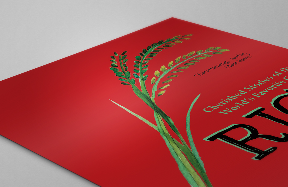 Rice Book Cover Design 4