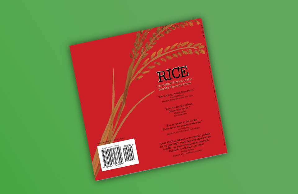 Rice Book Cover Design 3